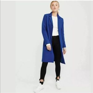 A&F Women's Wool-Blend Dad Coat